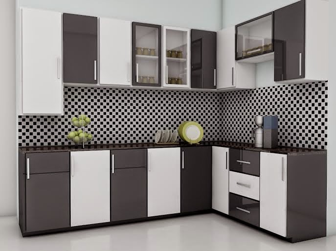 Modern Closed Kitchen Designs